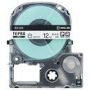 キングジム テプラ PRO テープカートリッジ 12mm 白/黒文字 SS12K−5P 1パック(5個) 【送料無料】