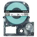 キングジム テプラ PRO テープカートリッジ 24mm 白/黒文字 SS24K−5P 1パック(5個) 【送料無料】