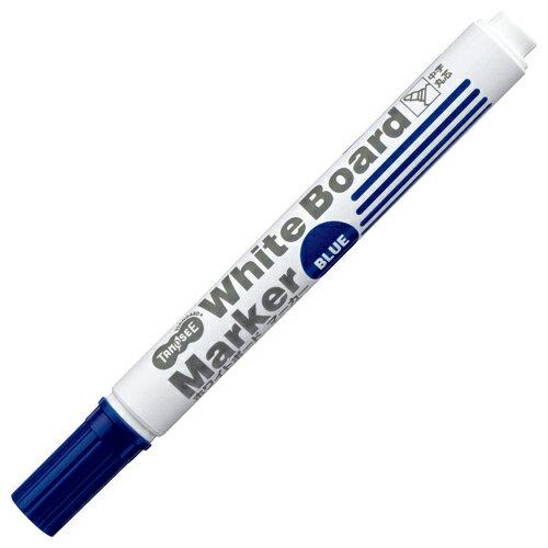 TANOSEE ホワイトボードマーカー 中字丸芯 青 1本...:p-tano:10064939