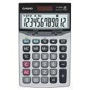 カシオ 本格実務電卓 12桁 ジャストサイズ JF-120VB-N 1台