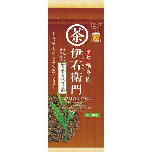 宇治の露製茶 伊右衛門 炒り米入りほうじ茶 100g/袋 1セット(3袋)