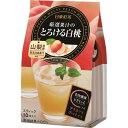 日東紅茶 厳選果汁のとろける白桃 スティック 9.5g 1セット(30本:10本×3パック)