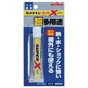 【お取寄せ品】 セメダイン 超多用途接着剤 スーパーX クリア 20ml AX−038 1個