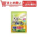 ショッピング猫砂 ユニ チャーム デオトイレ 飛び散らない消臭 抗菌サンド 2L 猫 猫砂 鉱物系