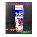 【かき氷シロップ】ハニー氷みつ 1.8リットル 『バナナ・8本セット』