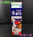 【かき氷シロップ】ハニー氷みつ 1.8リットル 『メロン』1本