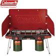 Coleman コールマン 2016SS パワーハウス LP ツーバーナー ストーブ II (キャンプ用品 バーナー) (red):2000021950