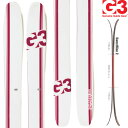 [送料無料] G3 ジースリー 13-14 スキー Empress 115 エンプレス115 (板のみ) レディース パウダー ツアー テレマーク [pd滑_ski] [40_off] [SP_SKI_SKI]