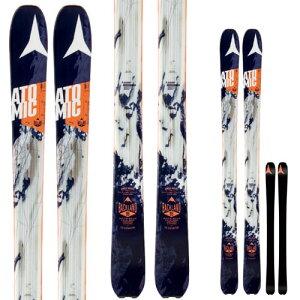 16-17 アトミック スキー板 ATOMIC 2017 BACKLAND バックランド 95 本格派・超軽量・山スキー ツアーにおすすめ 【送料無料】[pd滑_ski] [30_off] [SP_SKI_SKI]