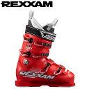 [送料無料] REXXAM レクザム 17-18 スキーブーツ skiboot 2018 PowerMAX 90 パワーマックス90 (RED) 基礎 オールラウンド: [pt0]