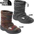 ノースフェイス THE NORTH FACE (NF51593) ヌプシブーティー ウォータープルーフウールラックス Nuptse Bootie WP Wool Luxe 防寒靴 ウィンターブーツ [2015秋冬ノースフェイス]:NF51593