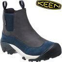 KEEN キーン Anchorage Boot II WP アンカレッジ 防水 ウィンターブーツ (TrueNavy):1015670
