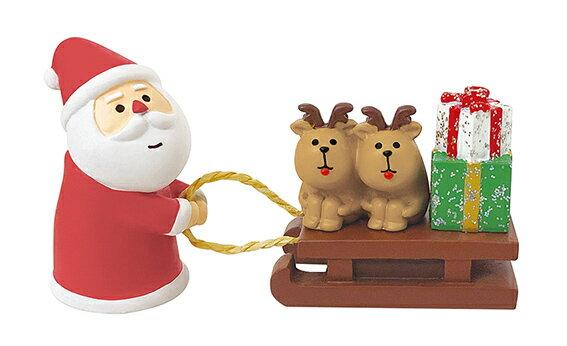 decoleconcombreCHRISTMAS2020 クリスマスマーケット サンタとトナカイそり