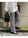 [Rakuten Fashion]キカガラJQカットPT PAGEBOY ページボーイ パンツ/ジーンズ パンツその他 ブラック グリーン【送料無料】