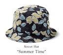 ストリートハット(男性用)「Summer Time」全1色