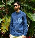 アロハシャツ メンズ(男性用)「Junglist blue」全2色 長袖 XL 大きいサイズあり 沖縄結婚式にアロハシャツ