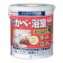 アトムハウスペイント(塗料/ペンキ/ペイント)水性かべ・浴室用塗料1.6L ベージュ