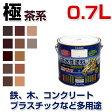SP水性ECOアクア「極」 茶系 0.7L (水性多用途塗料/速乾シリコンつやあり/ペンキ/塗料)