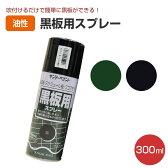 黒板用スプレー 300ml (ペンキ 黒板塗料 DIY サンデーペイント) 02P03Dec16