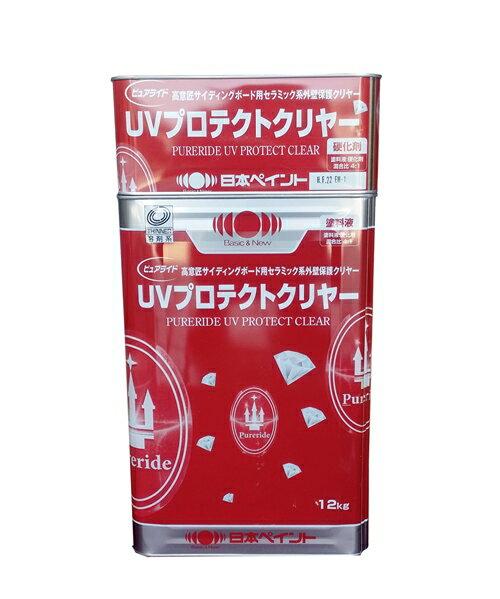 【送料無料】ニッペ  ピュアライドUVプロテクトクリヤー 15kgセット