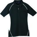 コーコス 半袖ポロシャツ 13ブラック 3L(MX707133L)