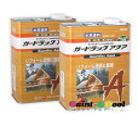 木材保護塗料 ガードラックアクア W・Pステイン チョコレート A-5 14K缶