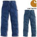 CARHARTT LOOSE-FIT WORK DUNGAREE カーハート ペインターパンツ ワークパンツ パンツ デニム ジーンズ PANT B13