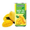 『サンキスト』マンゴージュース (缶・175ml)果実ジュ