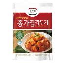 『宗家』 カクテキ|大根サイコロキムチ(500g)チョンガ 大根キムチ 韓国キムチ 韓国食材 韓国食品 マラソン ポイントアップ祭