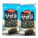 『ヤンバン』味付けのり(弁当用・8切×6枚×8袋) 韓国のり 韓国海苔 韓国料理 韓国食材 韓国食品 マラソン ポイントアップ祭