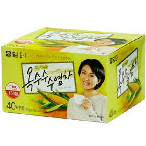 【あす楽】『ダムト』トウモロコシひげ茶(40包・ティーバッグ)韓国お茶 健康茶 韓国飲料 …...:paldo:10001666
