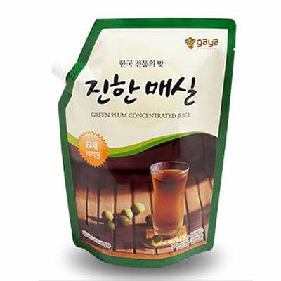 『ガヤF&D』梅エキス(1kg・6倍濃縮タイプ)原液 伝統茶 伝統飲料 韓国飲み物 韓国飲料 韓国ドリンク 韓国食材 韓国食品\梅とりんごを濃縮したエキスです/スーパーセール ポイントアップ祭