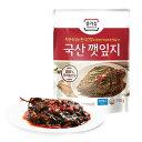 『宗家』ケンニッキムチ|エゴマの葉キムチ(辛口タレ漬け・150g)チョンガ 韓国キムチ 韓国おかず 韓国料理 韓国食材 韓国食品マラソン ポイントアップ祭