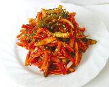 『自家製』キキョウの根キムチ|キキョウ辛味和え(500g)[おかず][和え物][惣菜][韓国おかず][韓国キムチ][韓国料理][韓国食品]