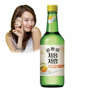 LOTTEチョウムチョロムスンハリ柚子焼酎|果実焼酎(360ml・アルコール14%)お酒韓国お酒韓国