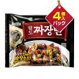 『Paldo』ジャジャン麺(203g*4個入りパック)■1個当り250円[パルド][韓国ラーメン][インスタントラーメン][ジャジャン麺] 0601楽天カード分割 マラソン×ポイントアップ祭 05P09Jul16