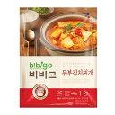 『CJ』bibigo韓飯豆腐キムチチゲ(460g・辛さ2) ビビゴ レトルト 韓国スープ 韓国鍋 韓