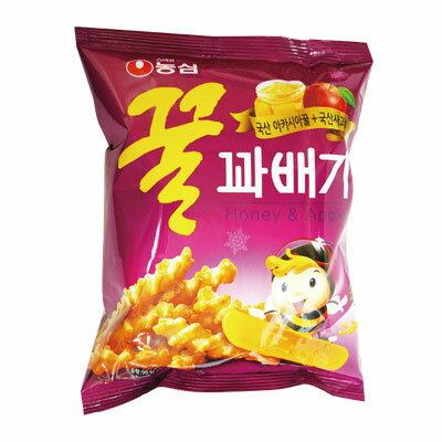 『農心』蜂蜜カベギ|ハチミツスナック(90g)ノンシム NONGSHIM おやつ スナック 韓国お菓子 マラソン ポイントアップ祭