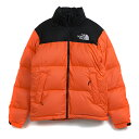 Supreme × The North Face / シュプリーム × ノースフェイス Nuptse Jacket / ヌプシ ジャケット ダウンPower Orange / パワーオレンジ Lサイズ2016AW FW 海外正規品 新古品【中古】