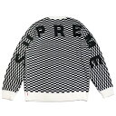 Supreme / シュプリームBack Logo Sweater / バック ロゴ セーター ニットCHECKERBOARD / チェッカーボード チェック 白 黒2020SS 20SS 国内正規品 新古品【中古】