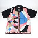 2021SS Supreme x Emilio Pucci / シュプリーム エミリオ プッチS/S Shirt Pink / ショートスリーブ シャツ ピンク2021SS 国内正規品 半袖 新古品【中古】