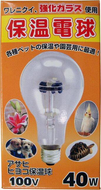 【アサヒ】ヒヨコ保温電球40W
