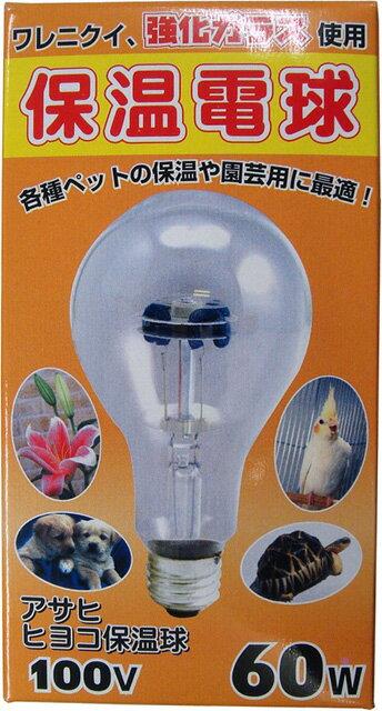 【アサヒ】ヒヨコ保温電球60W