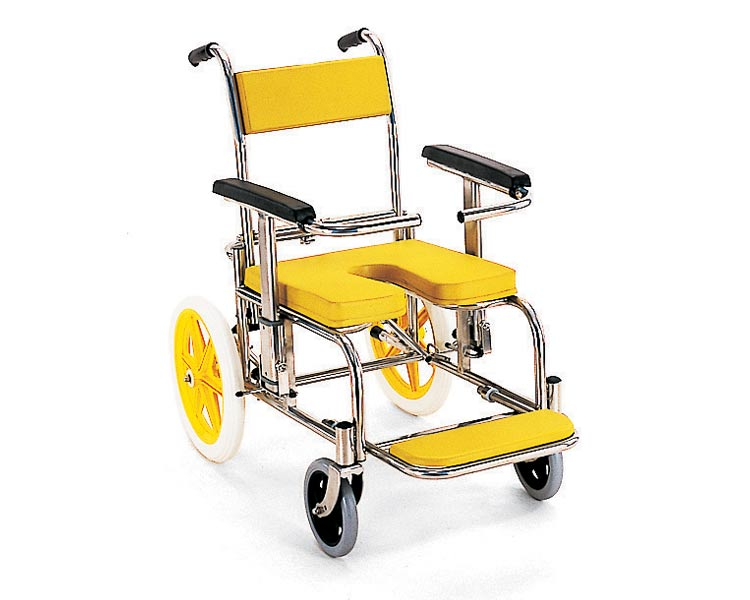 シャワーキャリー入浴・シャワー用車椅子KS2標準(クリありシート仕様)カワムラサイクルシャワーキャリ