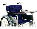 車椅子用テーブル 面ファスナー止め カワムラサイクル車いすテーブル 車イス 机 簡単設置 マジックテープ止め 介護用品 車椅子オプション