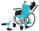 アルミ自走式車いす NA-L8W 【日進医療器】【車椅子】【軽量】【折り畳み】【smtb-kd】【RCP】【介護用品】