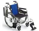 車椅子 スタンダード車いす ウイングスイングアウト機構 アルミ製自走式車椅子 BAL-3【ミキ】車椅子 軽量 折り畳み【smtb-kd】【RCP】車イス/車いす...