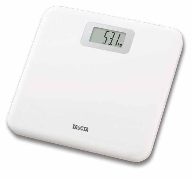 タニタ デジタルヘルスメーター/HD-661 ホワイト タニタ 【体重計】【RCP】【介護用品】
