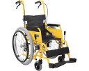自走・介助兼用 子供用 アルミ製車いす 介助用ブレー