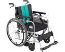 車椅子 とまっティシリーズ アルミ自走車いす MBY-41B ミキアルミ製 自走用 自走式 車イス 折りたたみ 介護用品 福祉用具